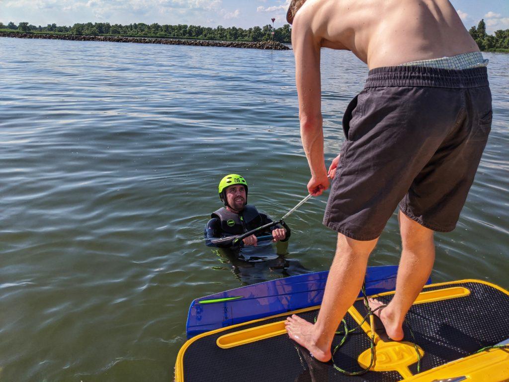Combiles wakeboarden